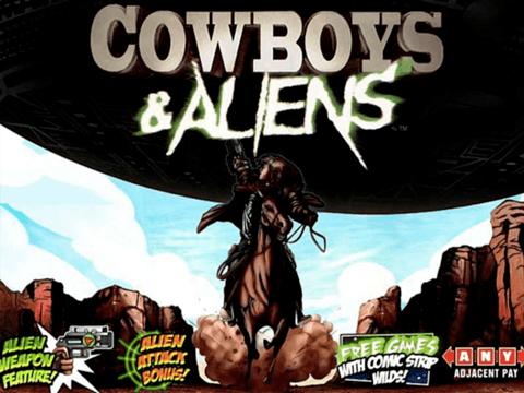 Игровой автомат Cowboys And Aliens